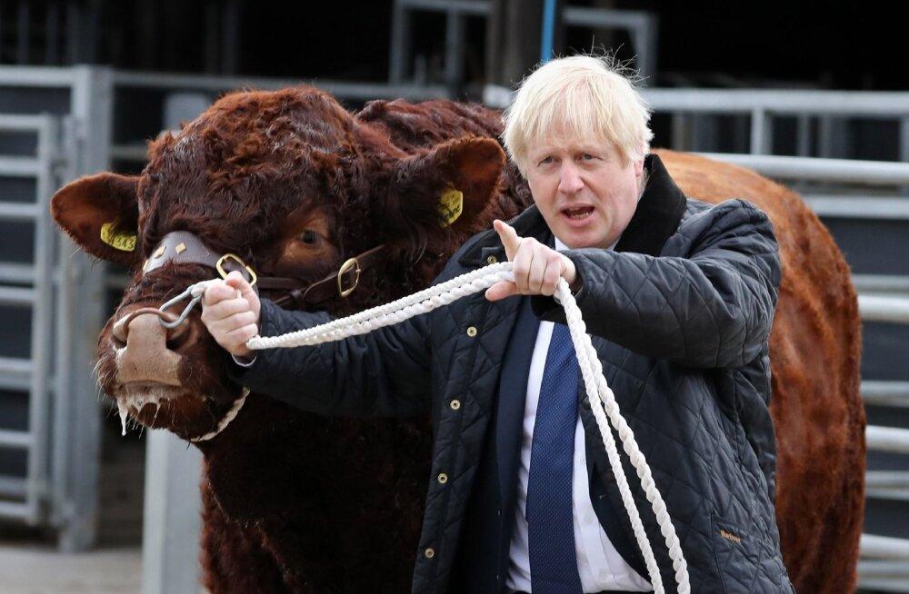 Briti peaminister Boris Johnson reedel Šotimaal.