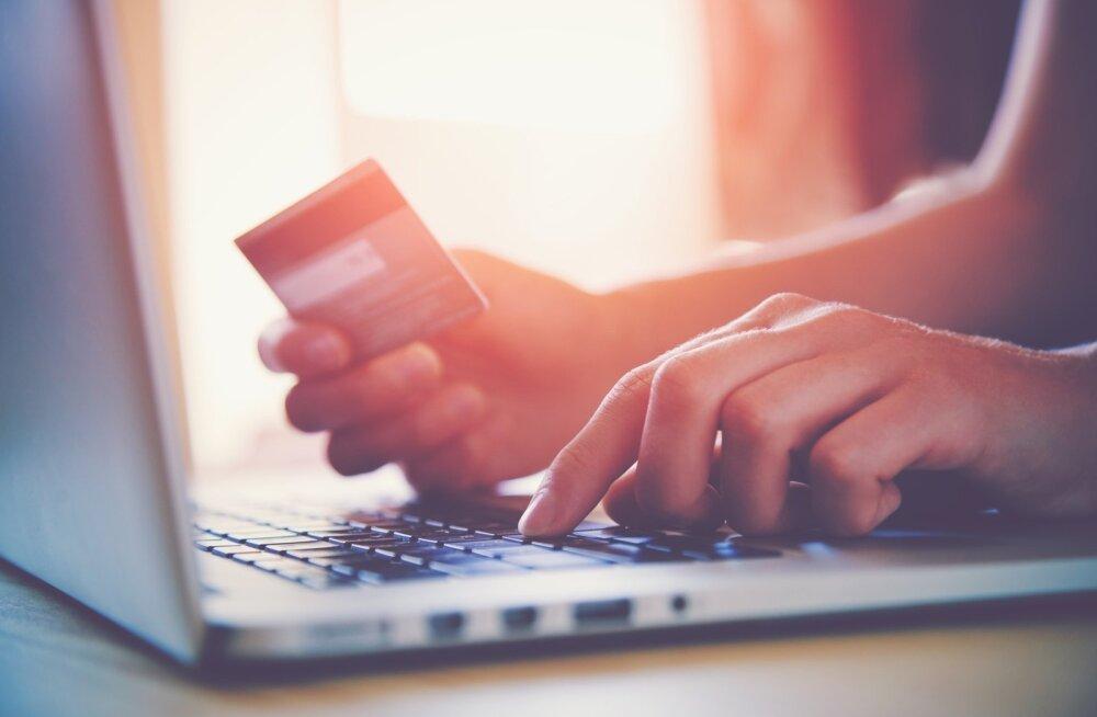 krediitkaardiga maksmine
