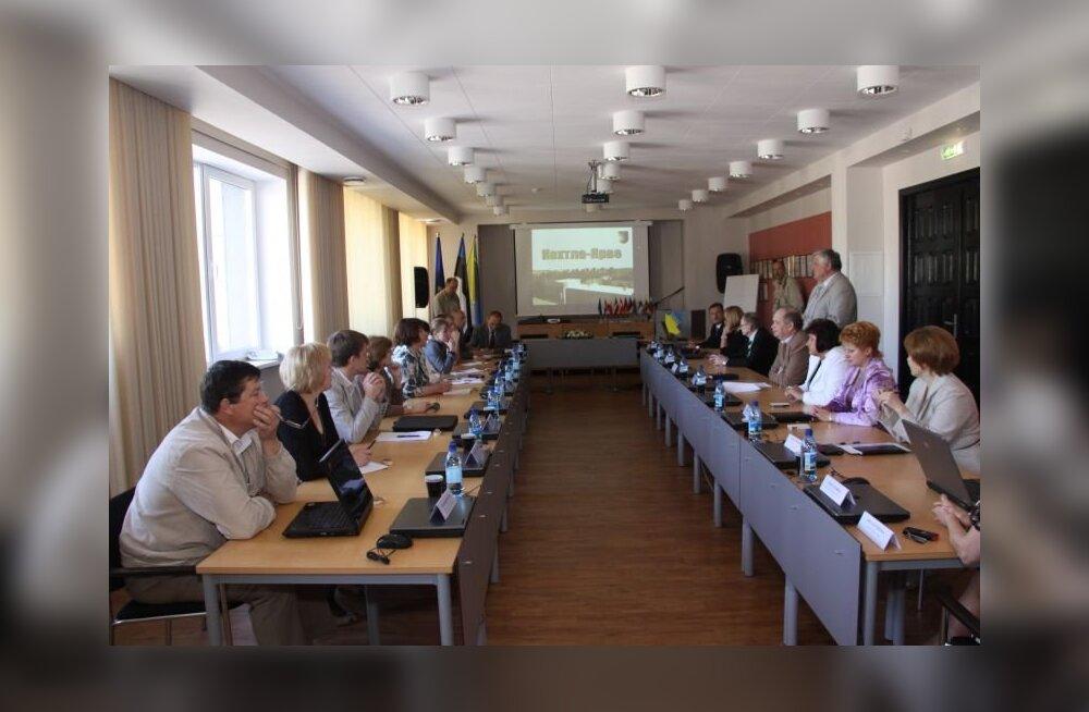 ФОТО: Жители Кохтла-Ярве принимают у себя европейцев