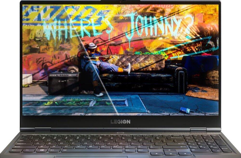 Lenovo Legion Slim 7i: haruldaselt kerge mängu-sülearvuti