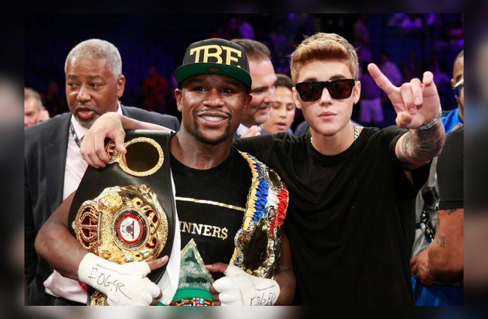 Floyd Mayweather ja Justin Bieber