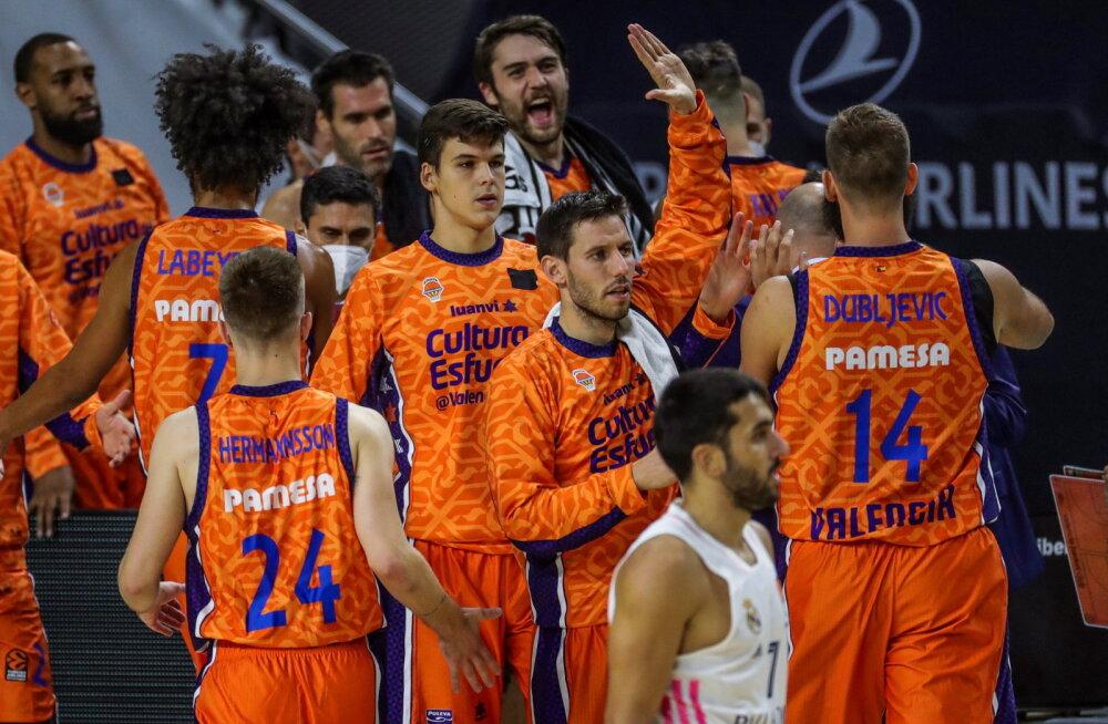 BLOGI   CSKA avas pärast põnevat lahingut võiduarve, Valencia lustis võõrsil Madridi Reali vastu