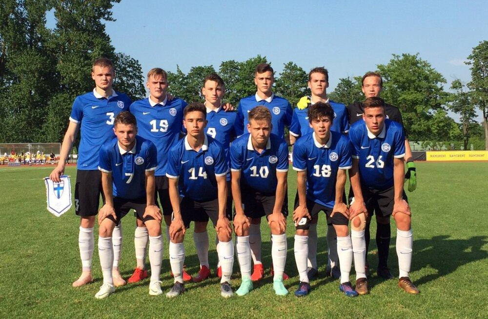 c05cc267f45 Eesti U19 jalgpallikoondis alustas Balti turniiri kaotusega Soomele ...