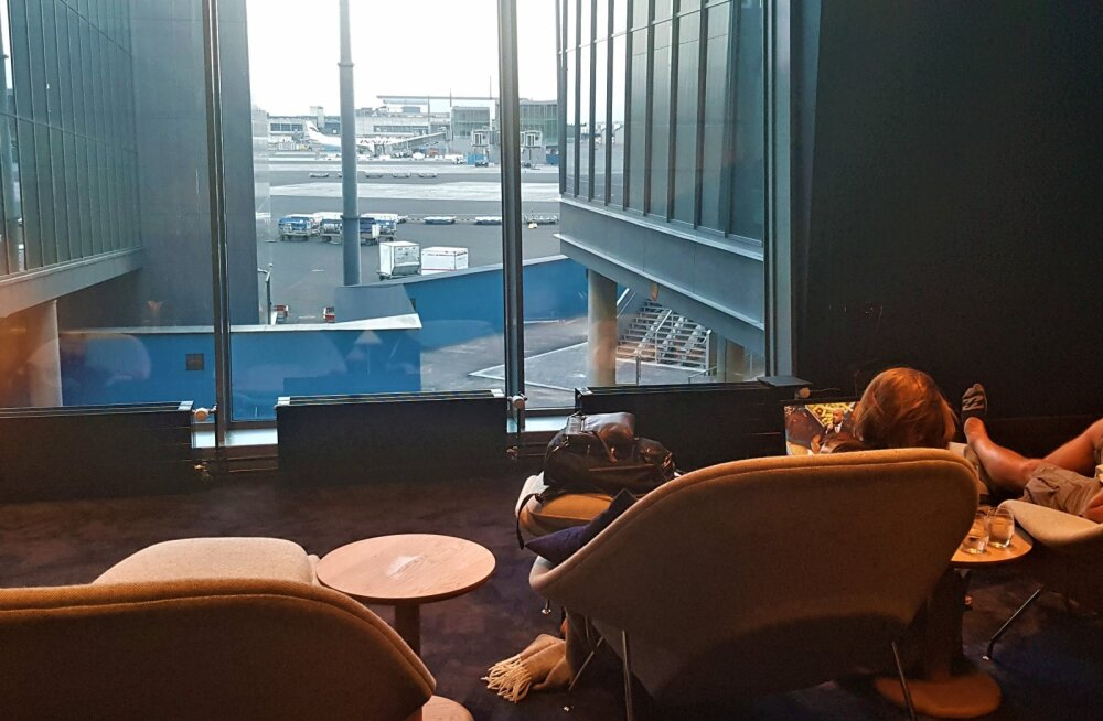 LOUNGISTA | Finnairi Platinum Wing uhiuus ootesaal Helsingis: milliste mugavustega seal äriklientide koorekihti vastu võetakse?