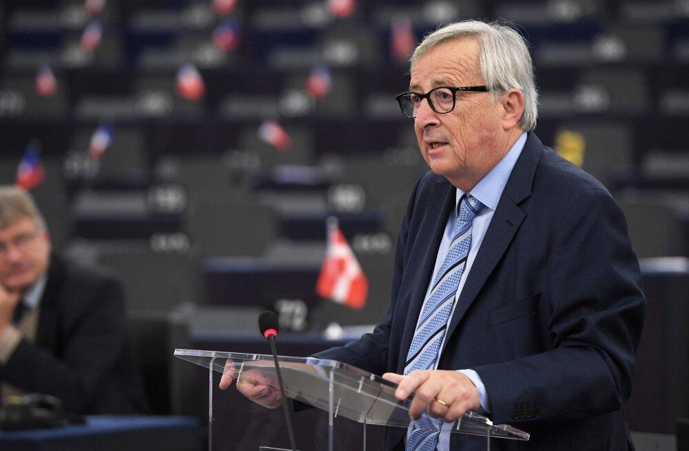 DELFI STRASBOURGIS | Juncker: kolm aastat Brexiti-kõnelusi oli aja- ja energiaraisk