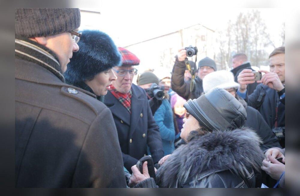 Стало известно, во сколько и где именно президент Кальюлайд встретится с народом в первый день своего визита в Нарву