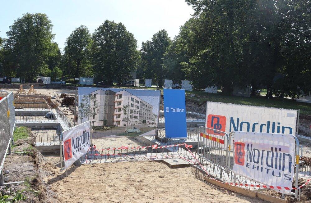 В Таллинне заложен первый муниципальный дом нового типа