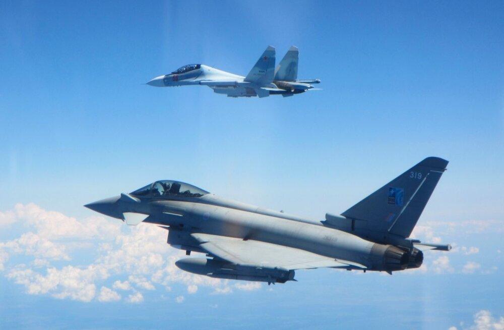 Jälle tuli NATO hävitajatel jälgida kaht Vene lennukit Eesti lähedal