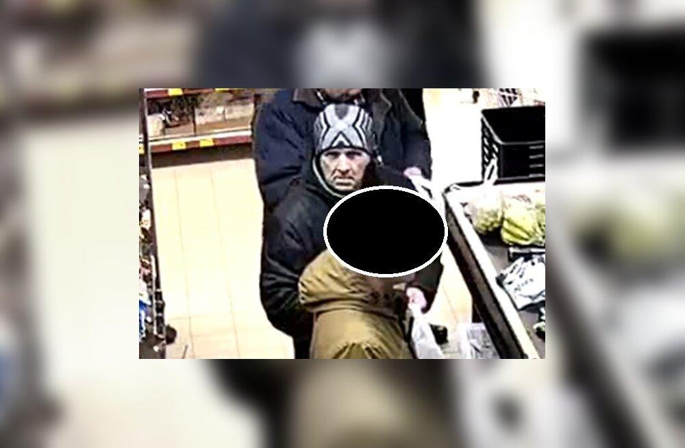 ФОТО: Нарвская полиция ищет возможного правонарушителя