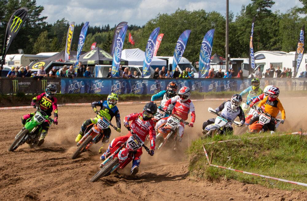 Langel selguvad Eesti meistrid motokrossis