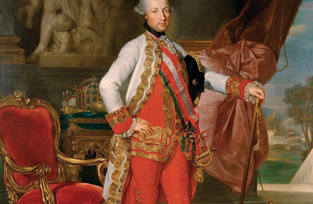 Ajaloofakt: Saku rajaja K.F. von Rehbinder sai krahvitiitli Saksa-Rooma keisrilt