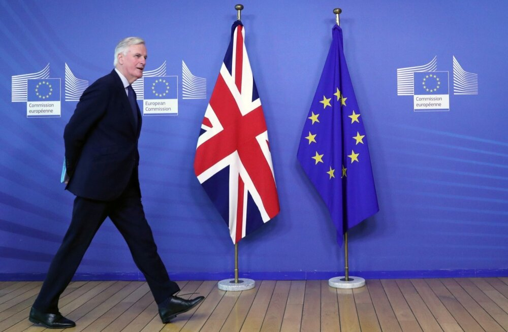 EL-i läbirääkija Barnier ei välista Brexiti edasilükkamist