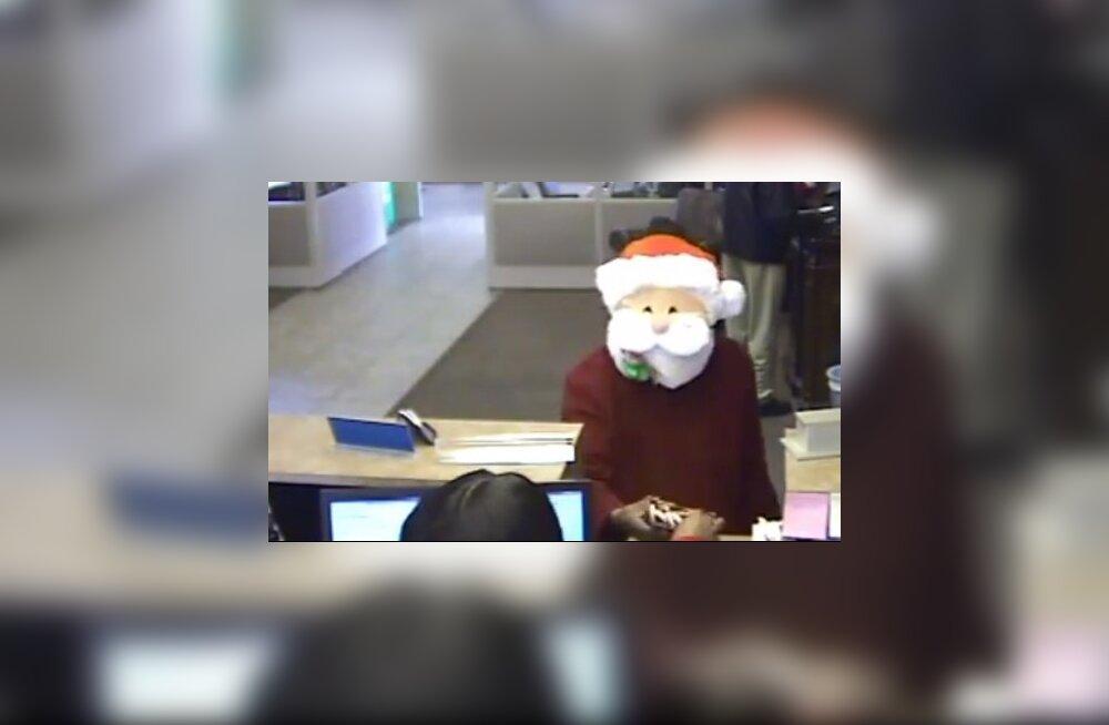 Taadil kriis käes? Jõuluvana kostüümis mees röövis USA panka