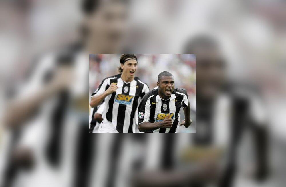 Zlatan Ibrahimovic  ja Marcelo Zalayeta, Juventus