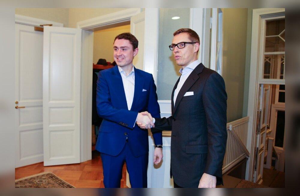 Taavi Rõivaqs ja Alexander Stubb LNG kokkulepet sõlmimas