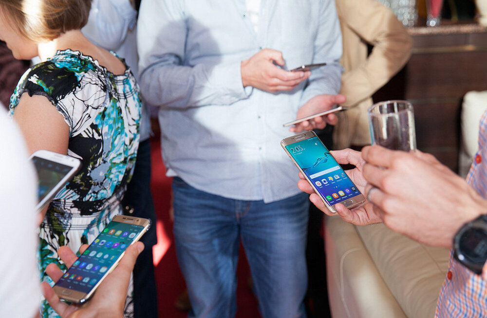 Samsung üllatas tänavu veel ühe tipp-nutitelefoniga: esmamuljed Galaxy S6 Edge Plus'i kohta