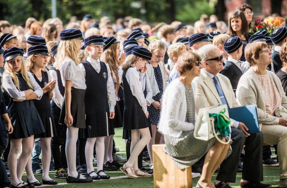 Miina Härma Gümnaasiumi avaaktus 2018