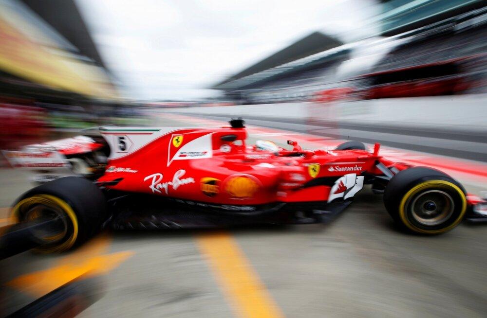 Vormel-1 sarjas muudetakse sponsorlogode parema nähtavuse huvides auto keresid
