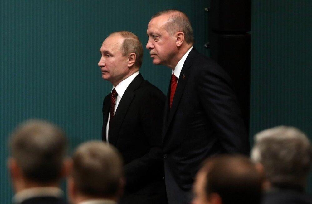 ANALÜÜS | Süüria jaotub mõjusfäärideks. Putini ja Erdoğani sõprus tekitab peavalu nii USA-le, kurdidele kui Assadile