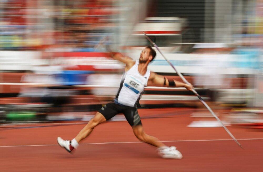 Magnus Kirt Ostrava võistlusel.