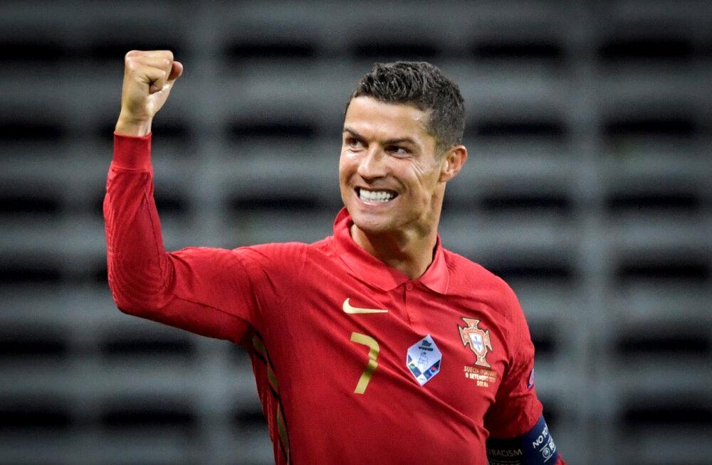 Maagilise tähiseni jõudnud Cristiano Ronaldo: minu karjäär räägib iseenda eest