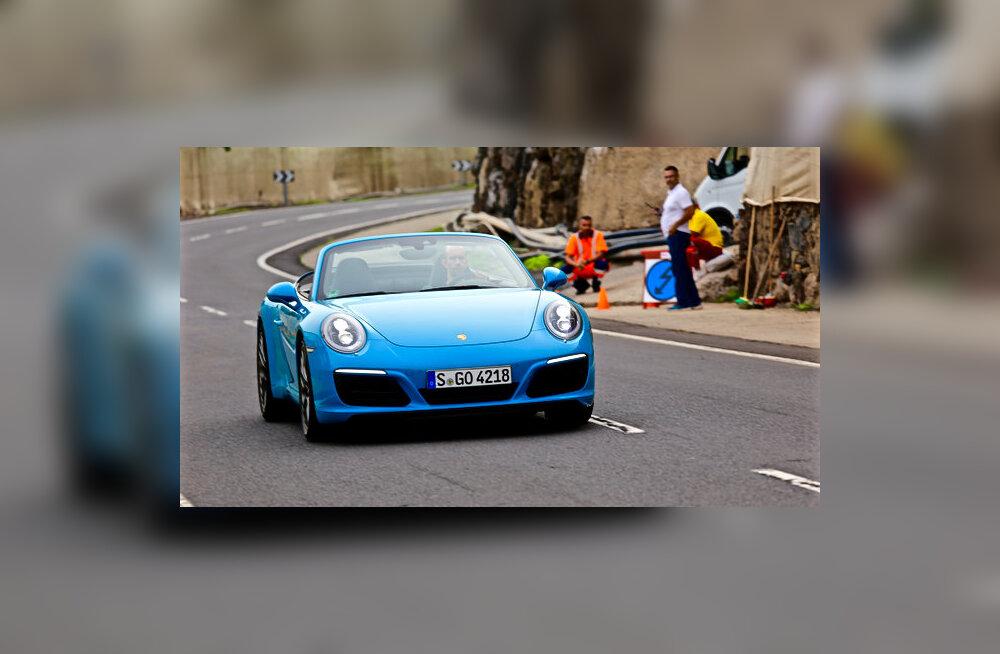 PROOVISÕIT: Uus Porsche Carrera - jõuliselt mänguline igas asendis!