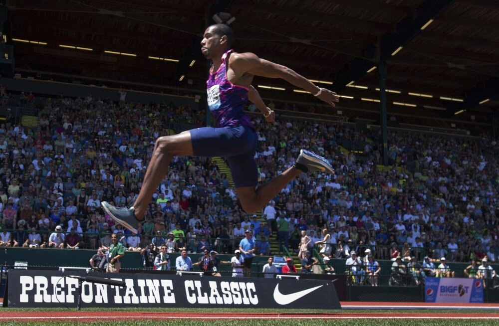 Kahekordne kolmikhüppe olümpiakuld Christian Taylor