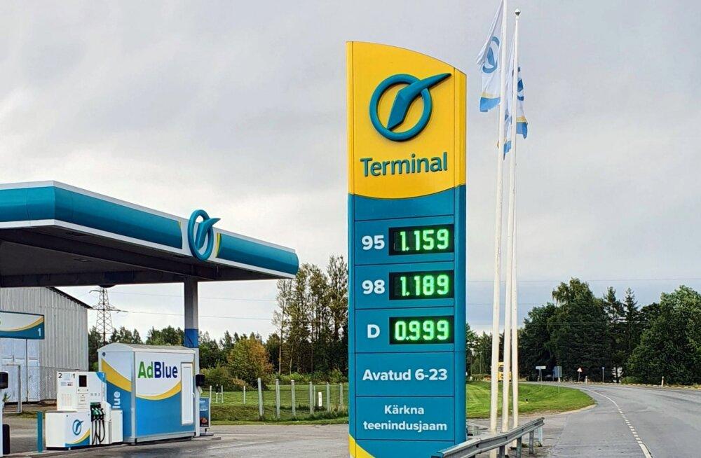 Terminal Oili tankla.