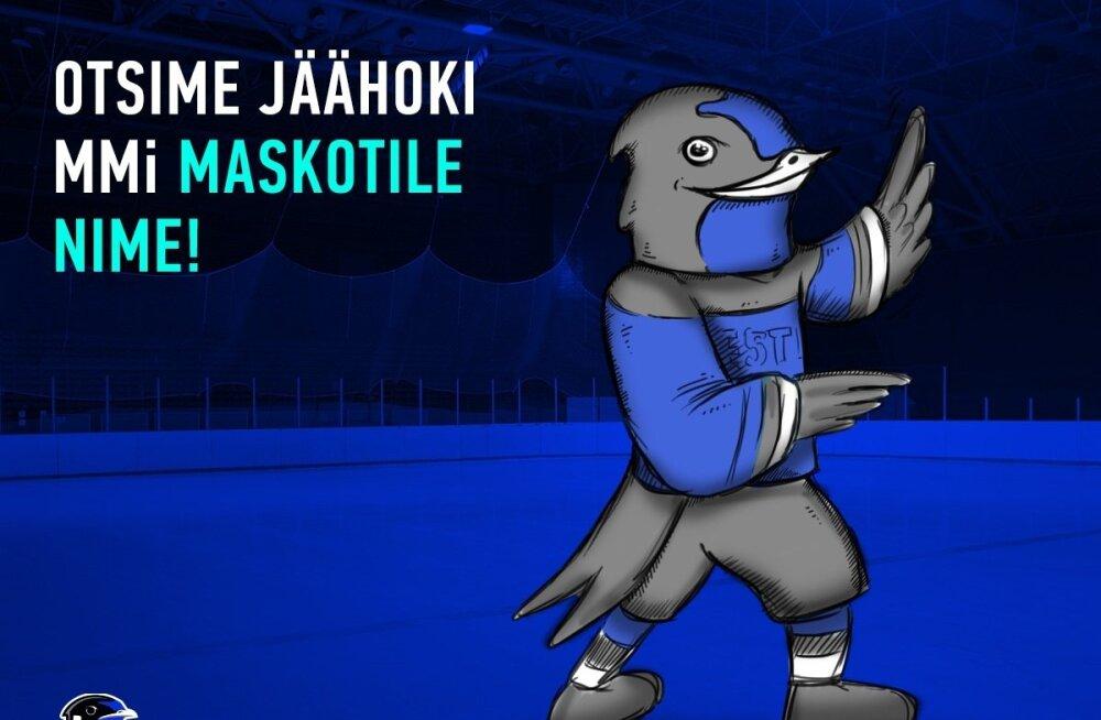 Eesti jäähoki maskott otsib nime
