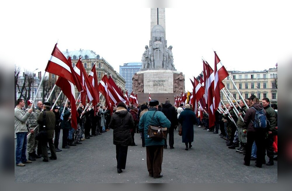 В интернете идет сбор подписей за отмену шествий неонацистов и ветеранов СС в Риге и Вильнюсе
