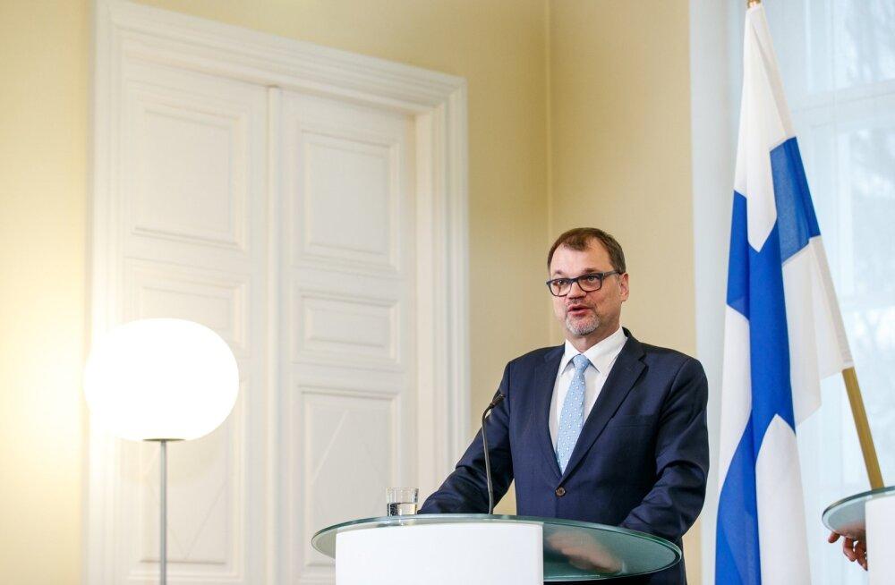 Soome valitsus astus tagasi, aga jätkab valimisteni kohusetäitjana