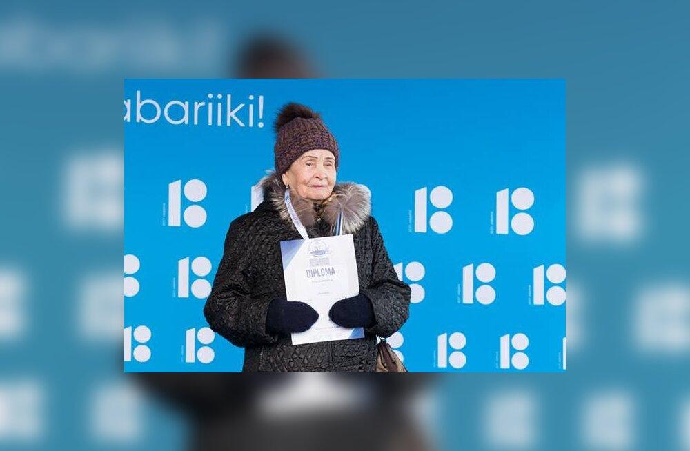 93-aastane Venemaa taliujuja viis Tallinna MM-ilt koju pronksmedali