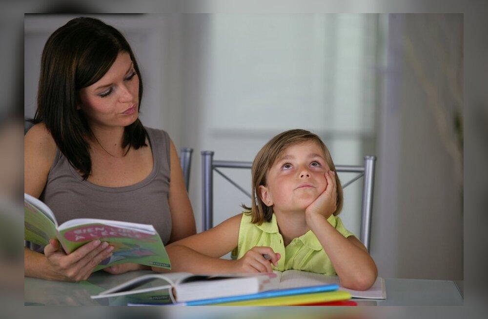 Lapsevanem: õpetajad, sorri, aga lapse koduste ülesannete hulk käib mulle üle jõu!