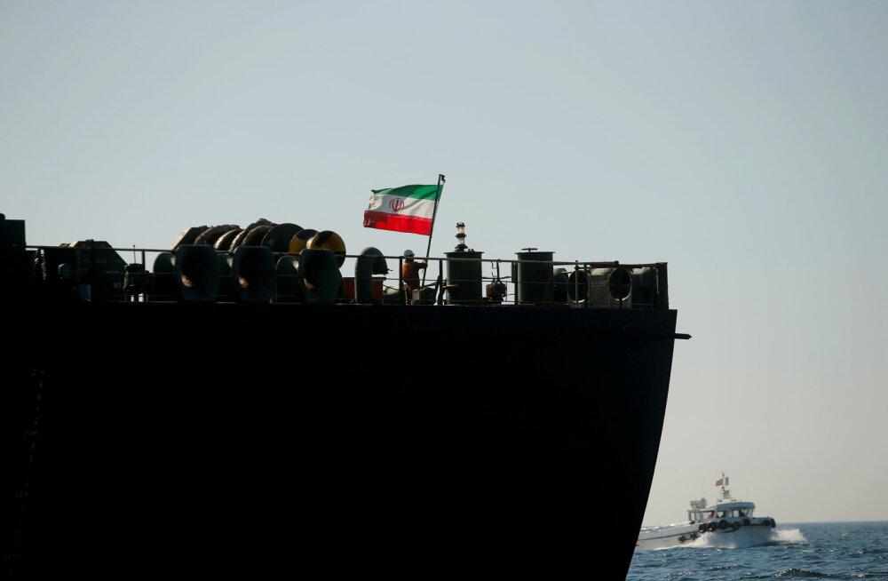 Saudi Araabia sadama lähistel sai plahvatuses kahjustada Iraani tanker
