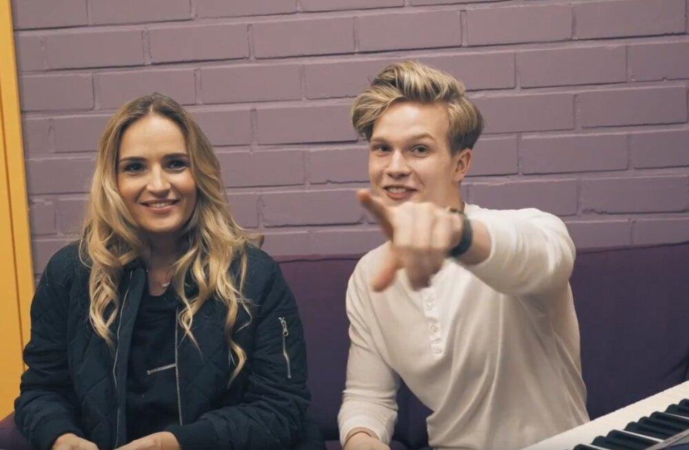 TV3 VIDEO   Superstaarisaate Jaagup pani Marta Laane tagurpidi laulma!