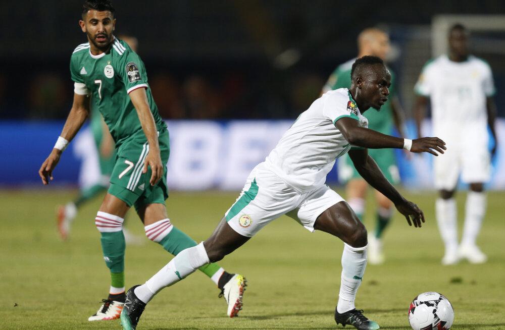 Mahrezi ja Mane duellis Aafrika Rahvuste karikal sai selgeks Alžeeria edasipääs