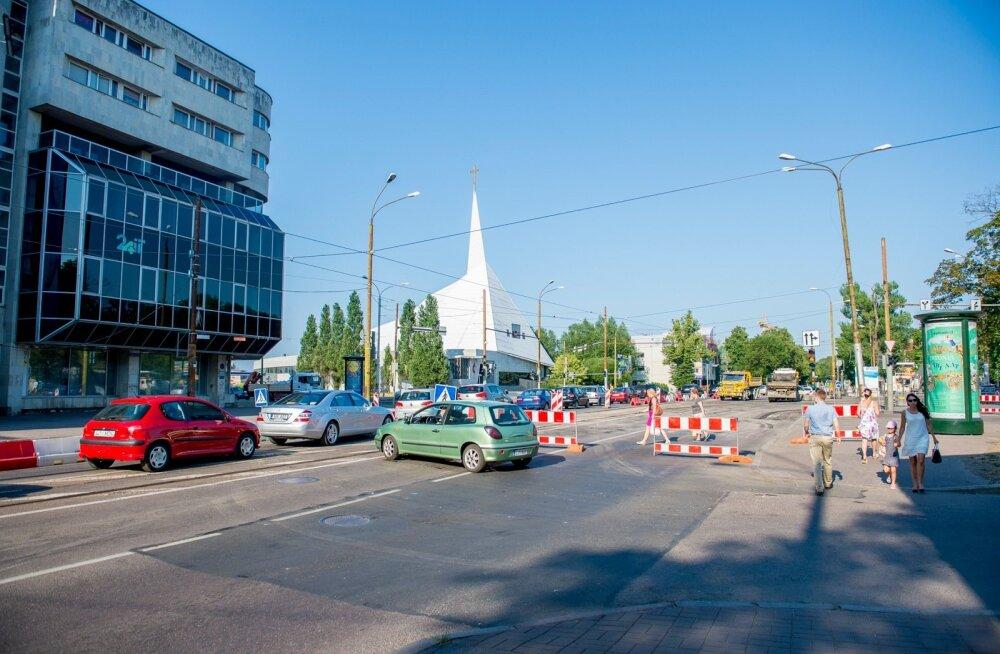 Suur ummik oli Narva maanteel ka eelmise aasta augustis