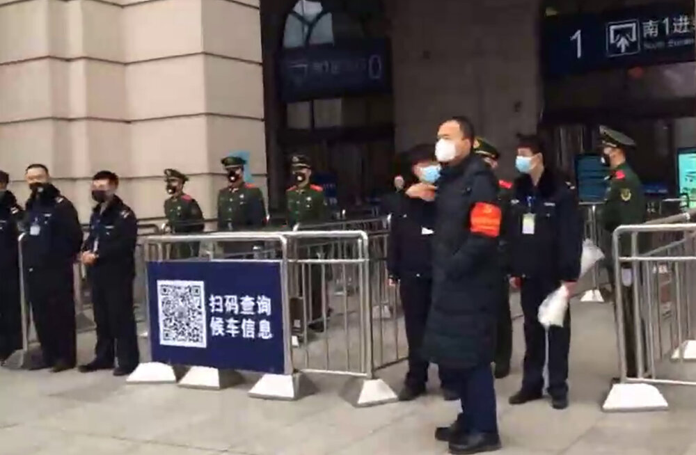 Hiinas teatati ka teise ja kolmanda linna sulgemisest uue koroonaviiruse tõttu