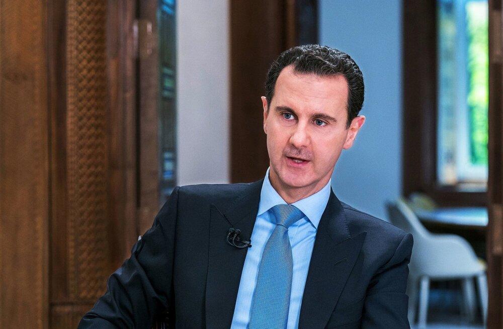 Assad avaldas Vene lennuki allatulistamise tõttu Putinile kaastunnet ja süüdistas Iisraeli nurjatusi