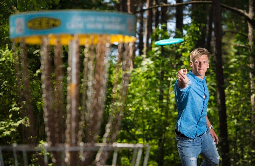 Silver Lätt on discgolf'is praegu Eesti esinumber.