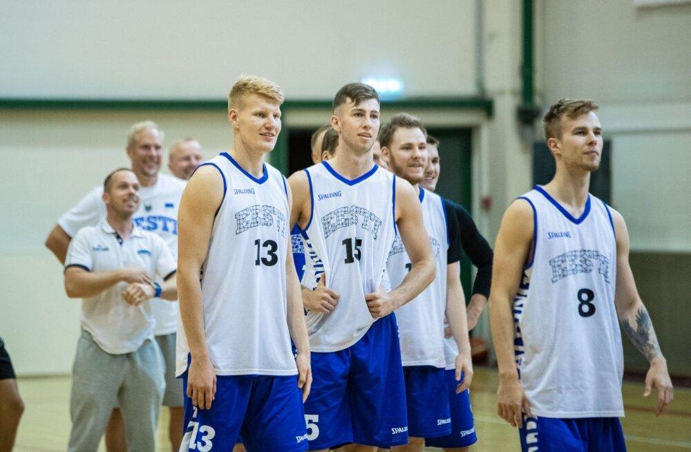 Eesti U20 korvpallikoondise avatud trenn 2019
