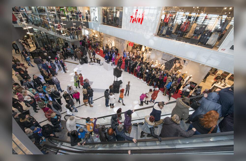 За месяц торговый центр Ülemiste посетили 600 000 раз