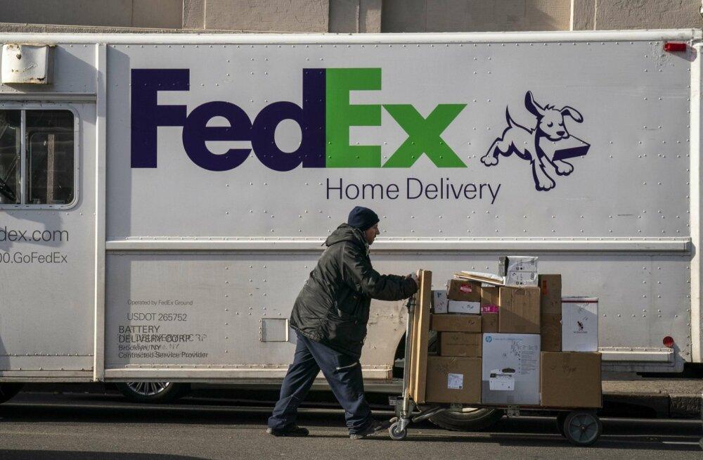 Fedex töötaja USAs