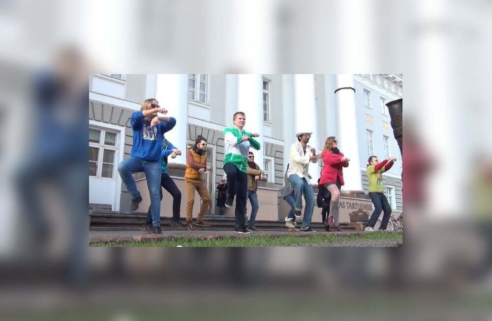 """VIDEO: Eesti parim """"Gangnam Style"""" video? Tartu Ülikool tegi ära!"""