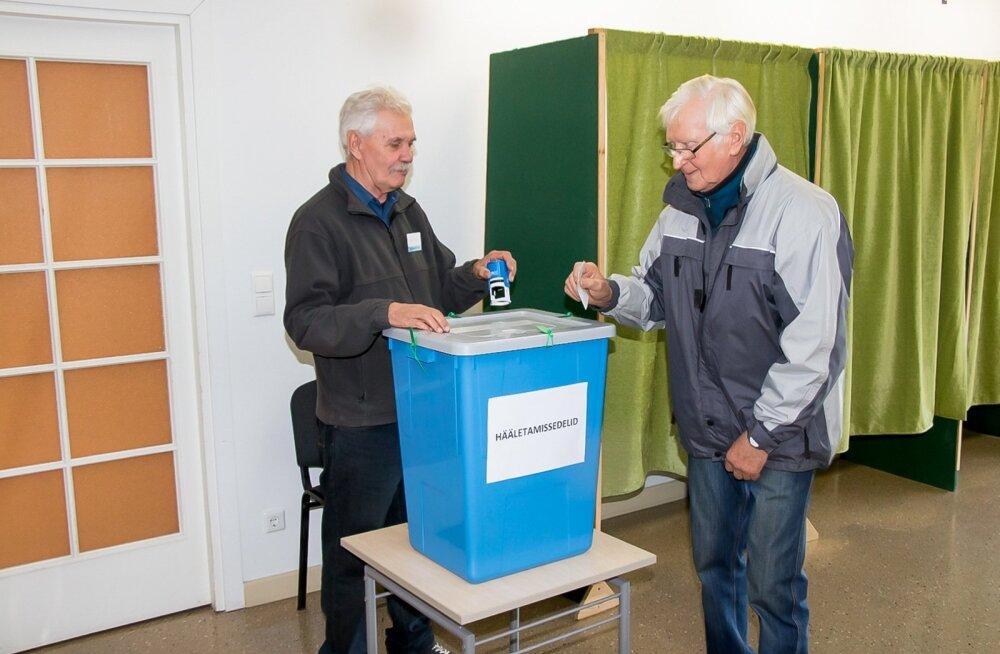 Kohalikud valimised Saaremaal 2017