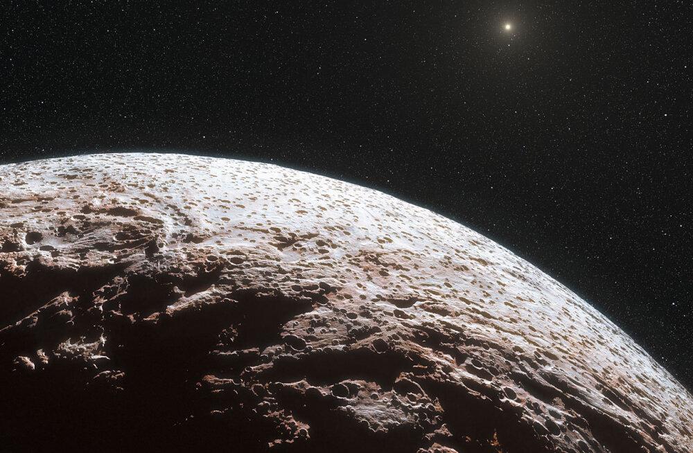 Pluutol on uus semu - Päikesesüsteemi äärealadelt leiti seni tundmatu pisike taevakeha