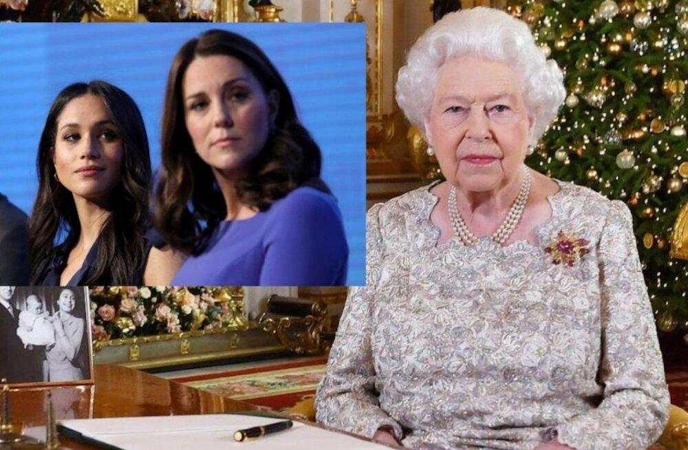 Kuninganna kannatus katkes? Elizabeth vihjab oma jõulukõnes skandaalidesse kistud miniatele!
