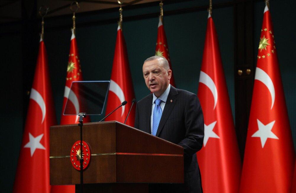 Türgi diplomaadid on väidetavalt nuhkinud Erdoğani kriitikute järel Balti riikides