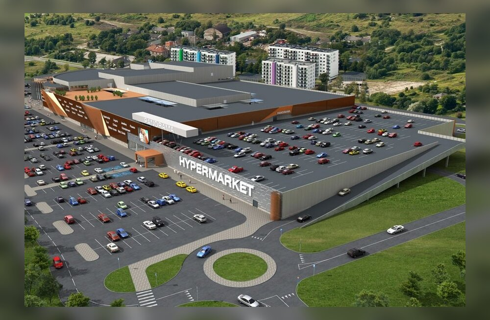 b679d2210f3 Merko ehitab Lasnamäe servale hiiglaslikku kaubanduskeskust - Maaleht