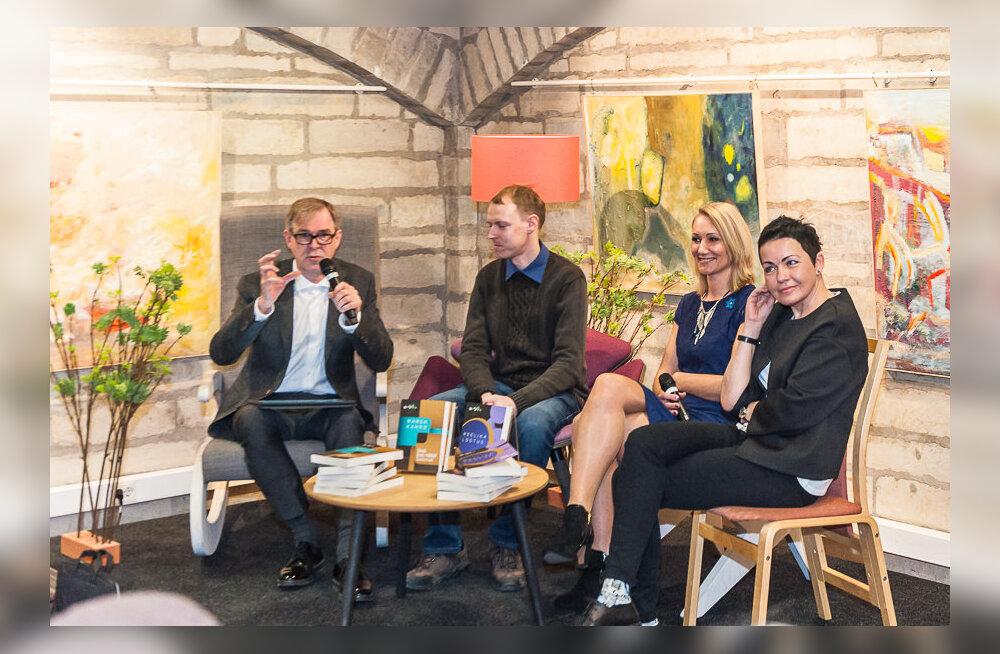 GALERII: Kirjanduskonkursi BestSeller võitjad Marek Kahro ja Reelika Lootus esitlesid oma võiduraamatuid